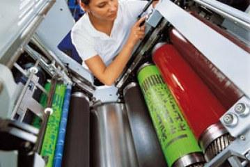 افست UV ماشین ها، مرکب ها و خشک کن ها