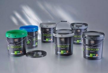 استفاده از پلاستیکهای بازیافتی در سطلهای رنگ از RPC